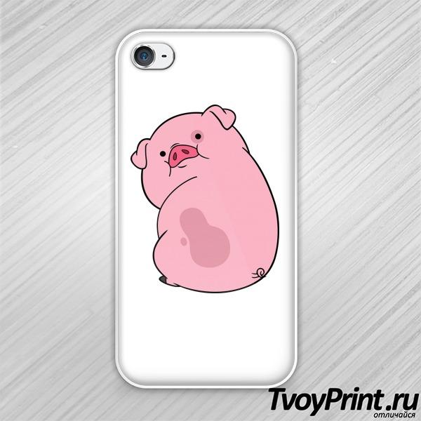 Чехол iPhone 4S пухля GRAVITY FALLS (2)