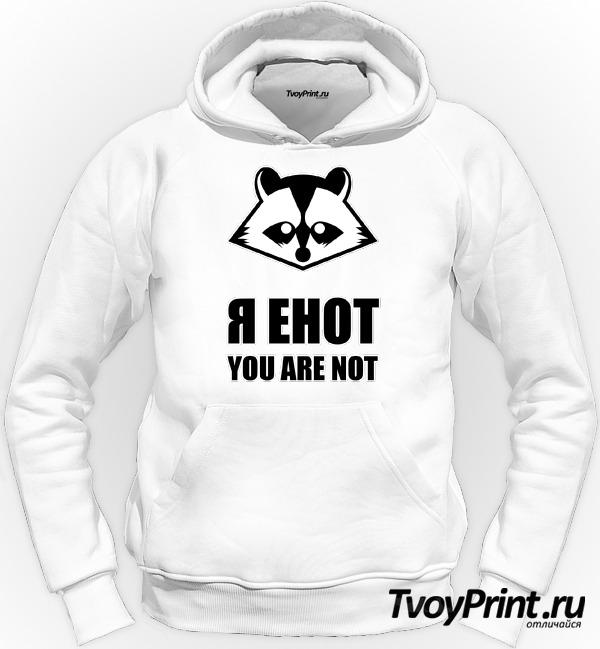 Толстовка я енот, you are not