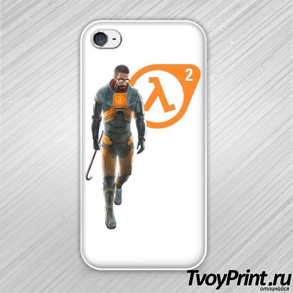 Чехол iPhone 4S Half Life 2