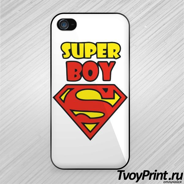 Чехол iPhone 4S Super boy