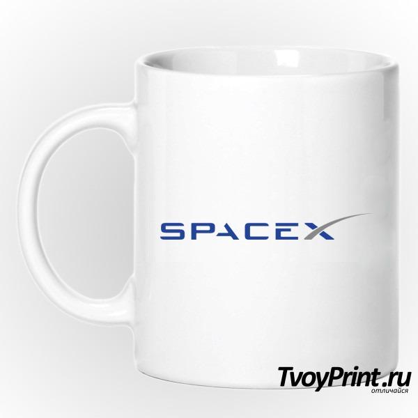 Кружка spacex