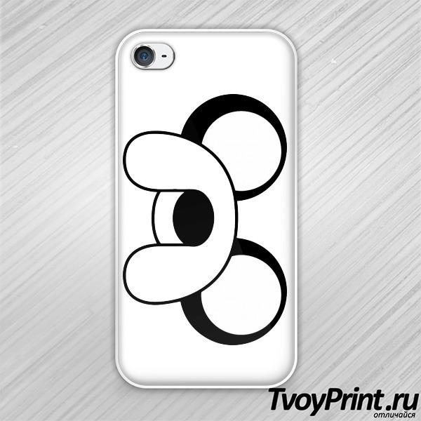 Чехол iPhone 4S Время приключений