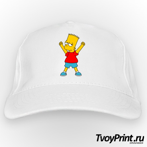 Бейсболка Барт Симпсон