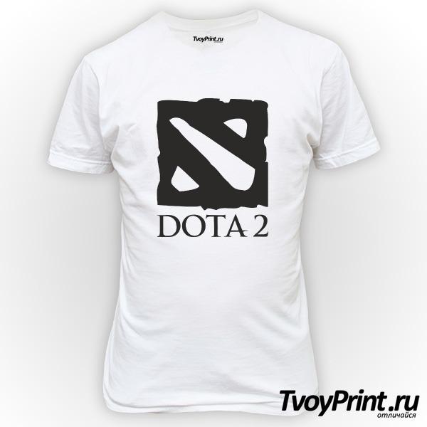 Футболка Dota 2  лого