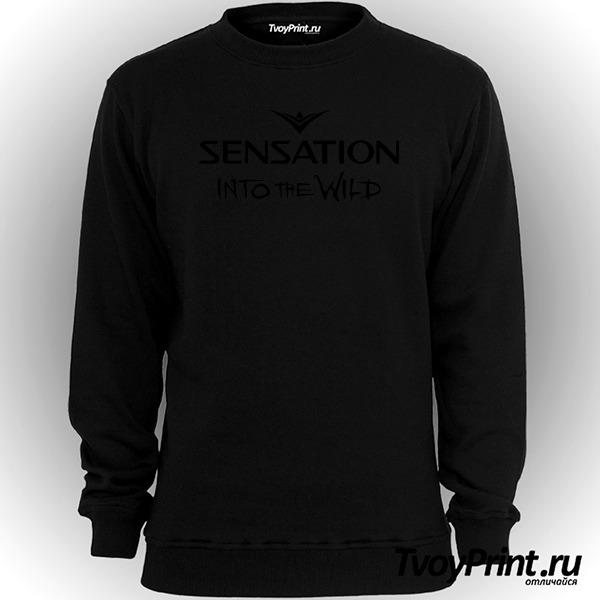 Свитшот Sensation into the wild 2014