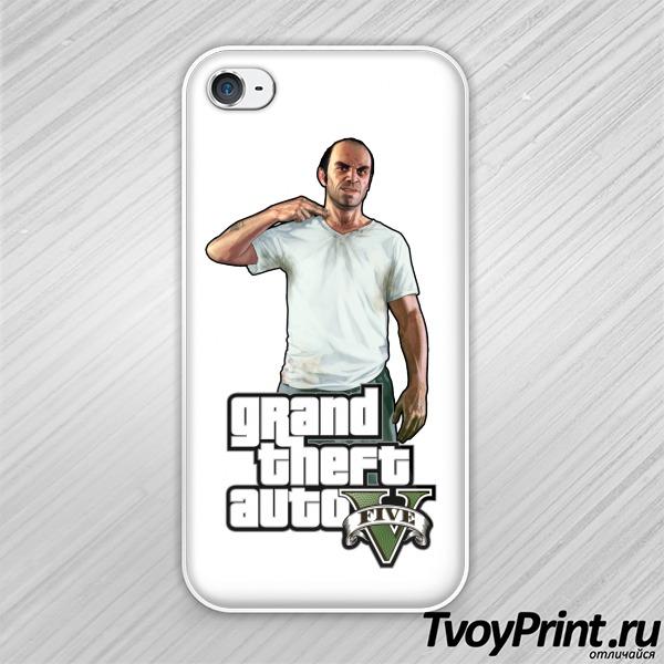 Чехол iPhone 4S Trevor