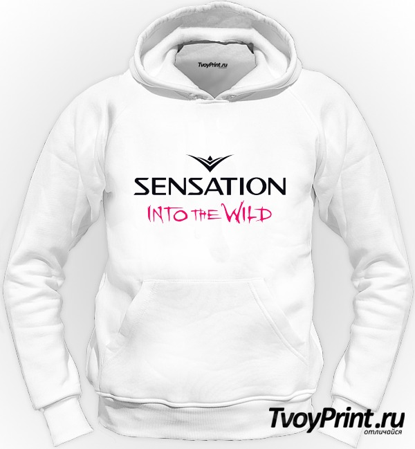 Толстовка Sensation into the wild
