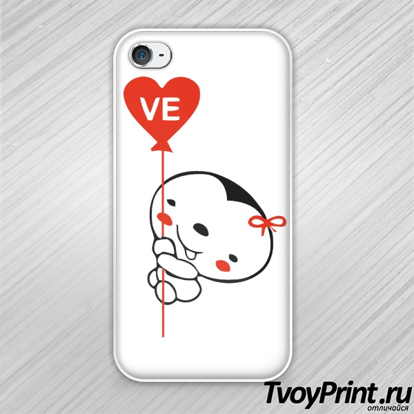 Чехол iPhone 4S Love правая часть