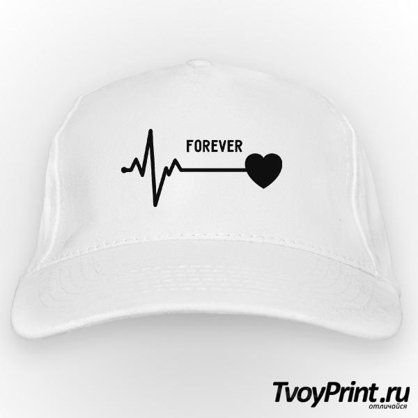 Бейсболка forever love