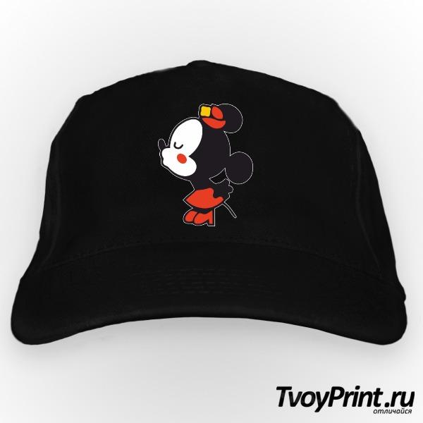 Бейсболка Влюбленные мышата правая часть