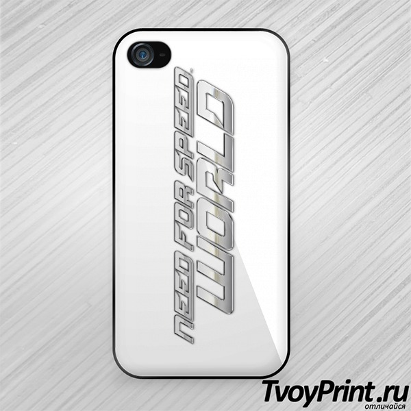 Чехол iPhone 4S Need for speed world