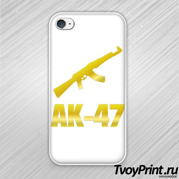 Чехол iPhone 4S АК-47 (2)