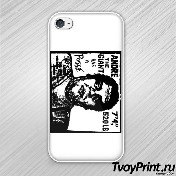 Чехол iPhone 4S Obey Retro