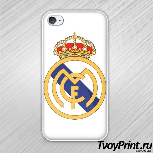 Чехол iPhone 4S Real-Madrid