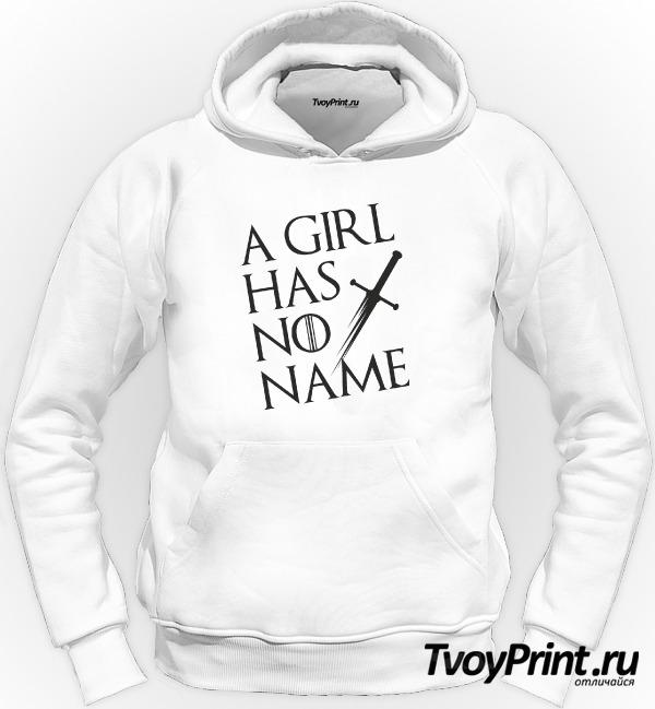 Толстовка У девочки нет имени