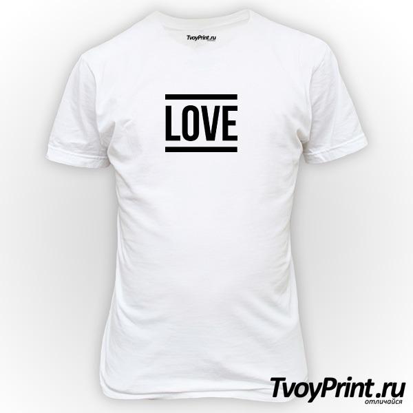 Футболка one love 1