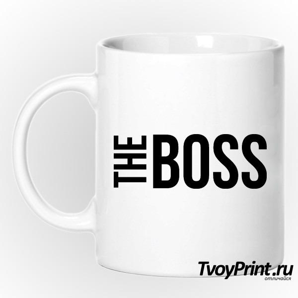 Кружка the boss