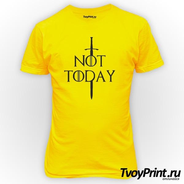 Футболка not today