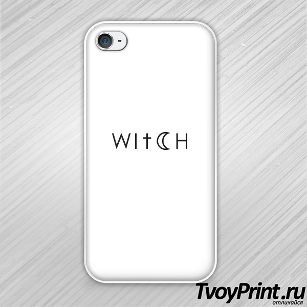Чехол iPhone 4S Witch