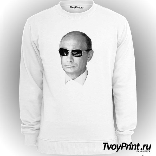 Свитшот Путин в очках
