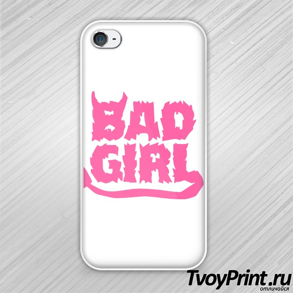 Чехол iPhone 4S Bad Girl