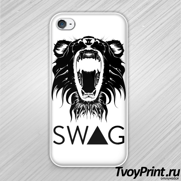 Чехол iPhone 4S Swag