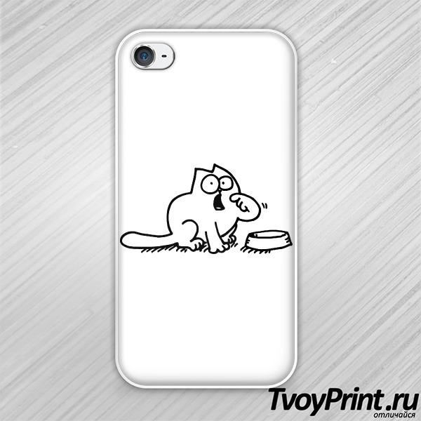 Чехол iPhone 4S Кот саймона