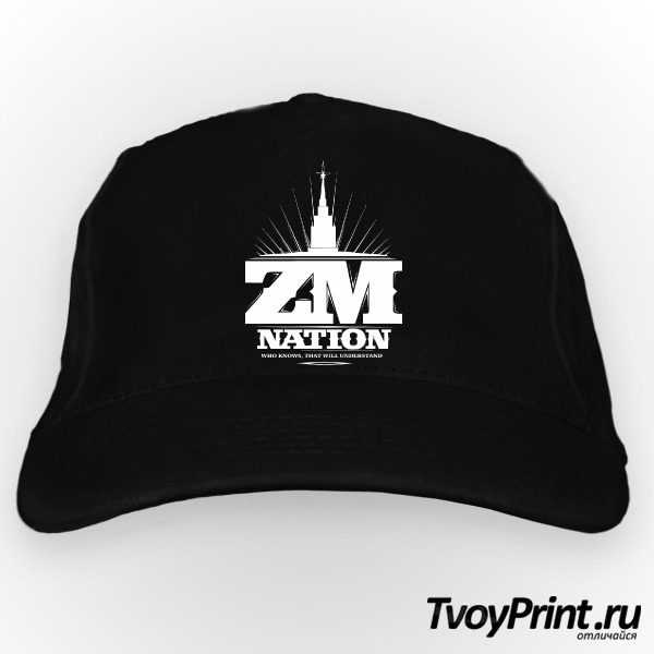 Бейсболка ZM nation (2)