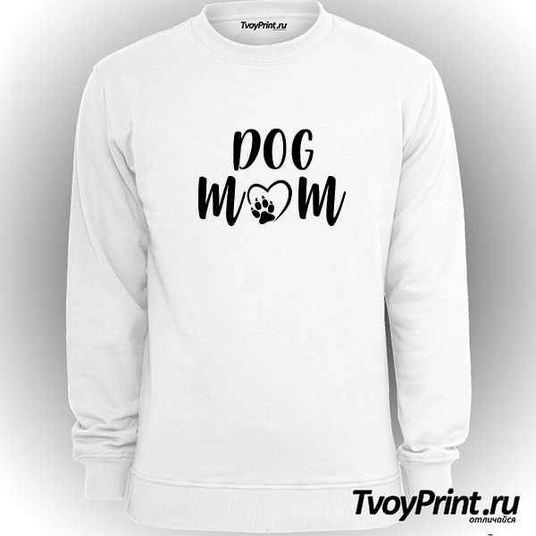 Свитшот Dog mom