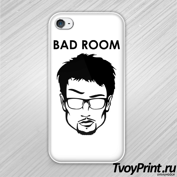 Чехол iPhone 4S Максим Snailkick: Bad Room