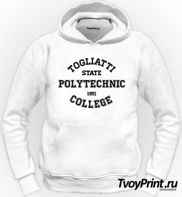 Толстовка колледжей Тольятти :ТПК