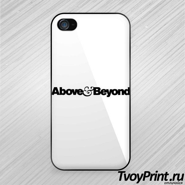 Чехол iPhone 4S above and beyond