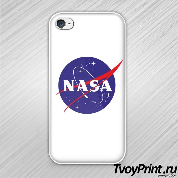 Чехол iPhone 4S nasa