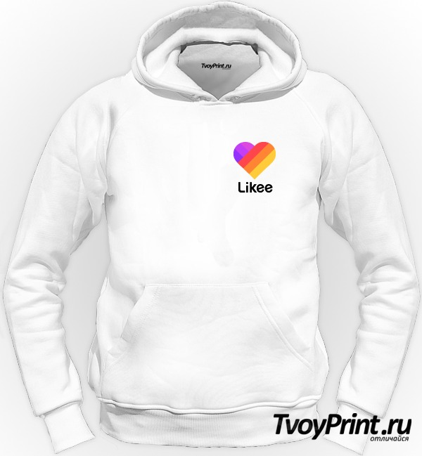 Толстовка Likee (логотип маленький)