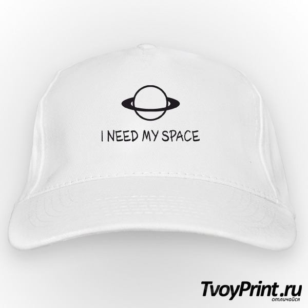 Бейсболка I NEED MY SPACE