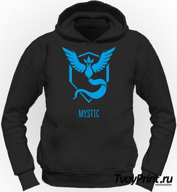 Толстовка Blue Team Mystic Pokemon Go Синяя команда