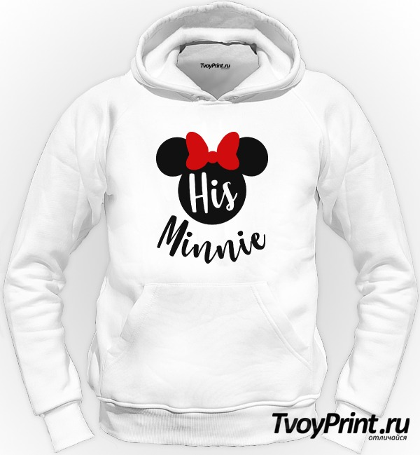 Толстовка His minnie