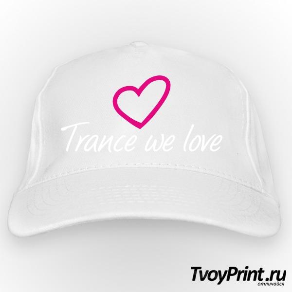 Бейсболка Trance we love