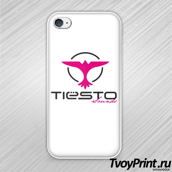 Чехол iPhone 4S Tiesto