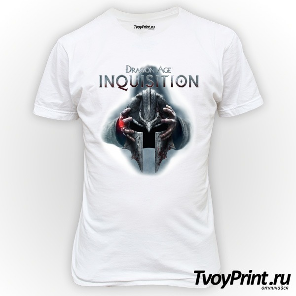 Футболка Dragon Age Inquisition Шлем
