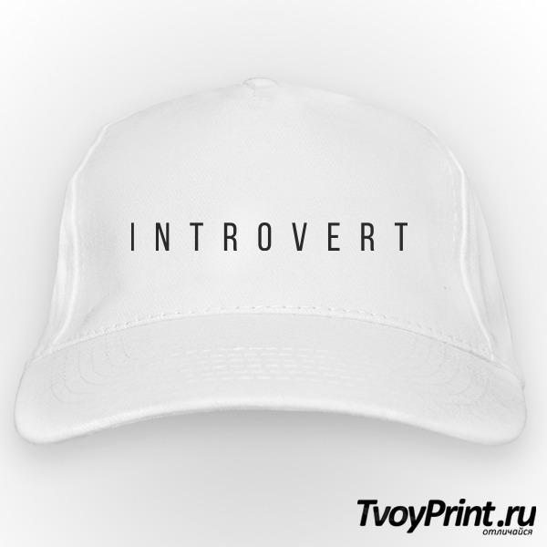 Бейсболка интроверт