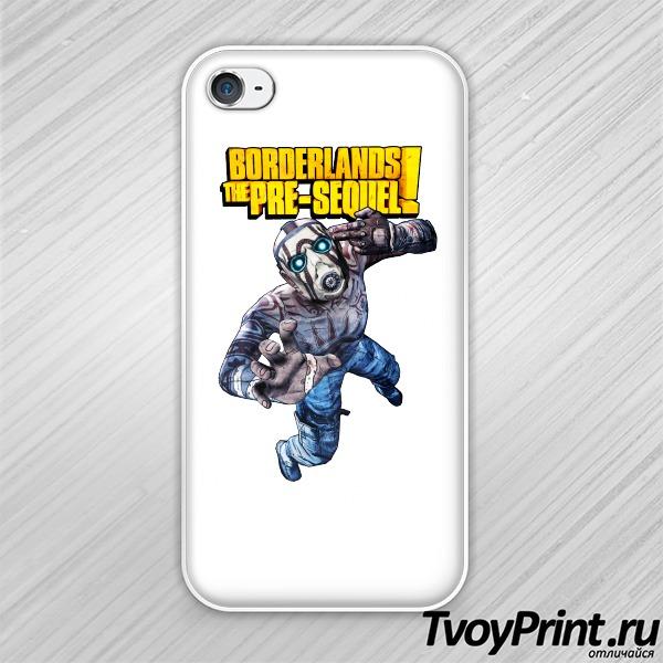 Чехол iPhone 4S Borderlands Псих