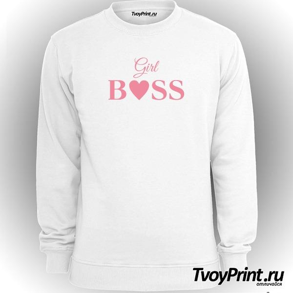 Свитшот girl boss
