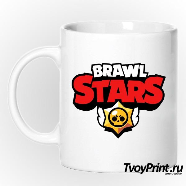 Кружка brawl stars logo