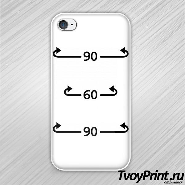 Чехол iPhone 4S Идеальные параметры 90-60-90