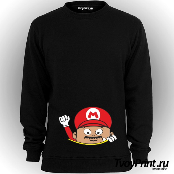 Свитшот Super Mario