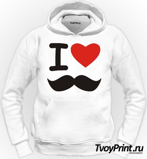 Толстовка I love УСЫ