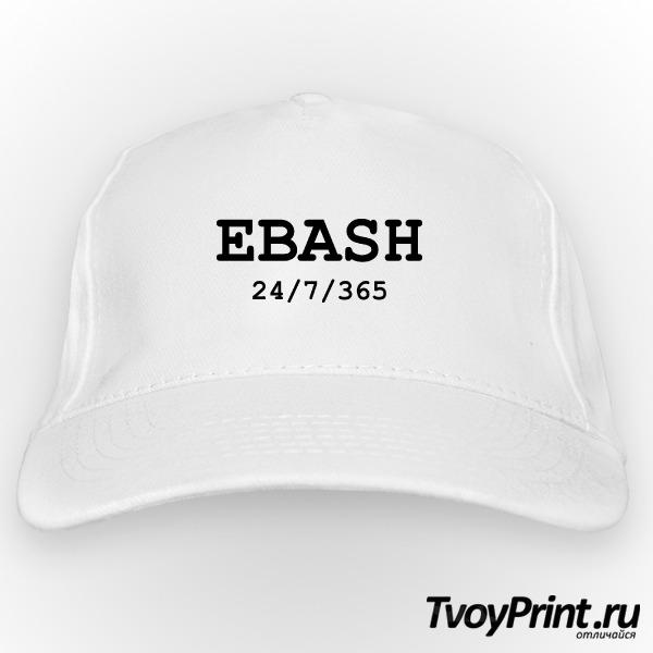 Бейсболка ebash