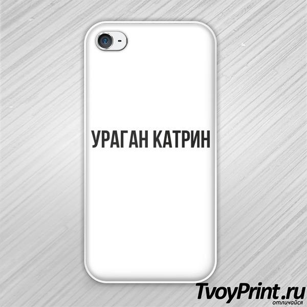 Чехол iPhone 4S ураган катрин