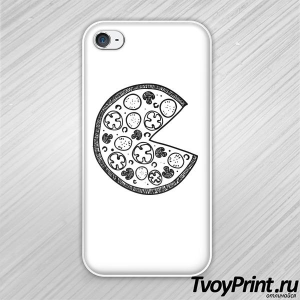 Чехол iPhone 4S Пицца